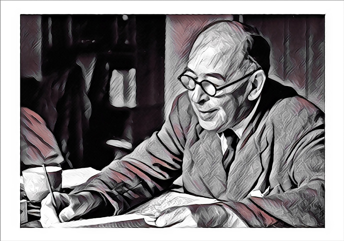 C.S. Lewis. Literature and writing is an important part of human flourishing.